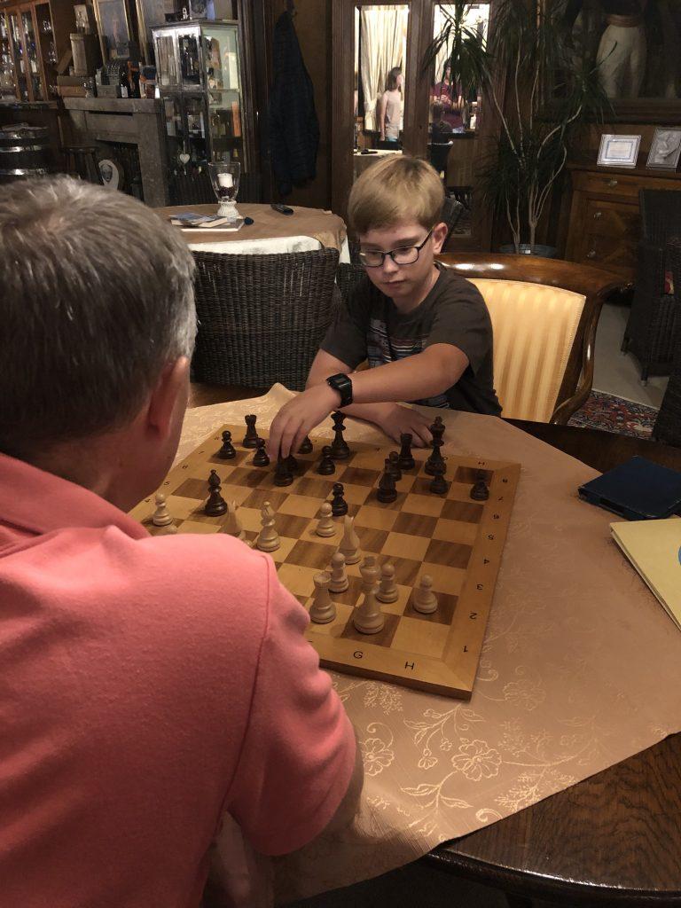 Rik verslaat zijn vader in Bad Wiessee