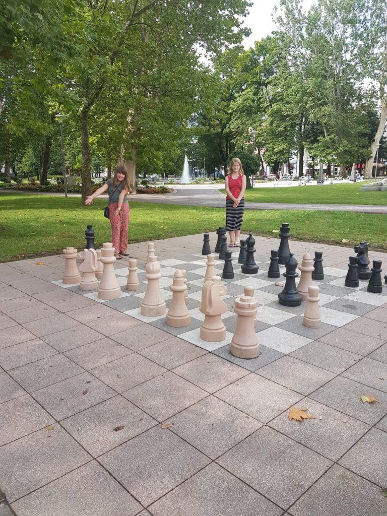 """Potje schaken in Spittal an der Drau"""
